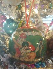 itreekedyou.com Questionable Motives Baseball Santa Ball Christmas Ornament