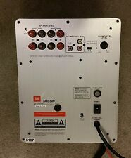 JBL Sub500 Powered Subwoofer Amplifier Plate Repair Service