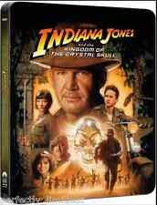 Indiana Jones & the Kingdom of the Crystal Skull - Blu-ray Limited Steelbook