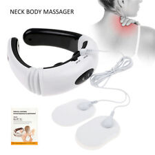 Electric Pulse Neck Massage Neck Acupuncture Therapy Massagers Home Car Use