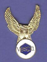 Vintage Badge Emblem Vespa 80s Mods Px Series Piaggio Alloy Handmade Collectibles