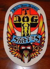 "DOGTOWN dog town Skate Sticker Bull Dog 4.25 X 2.75"" skateboards helmets decal"