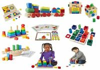 Melissa & Doug Kids Role Play Children Learning Toys Stacking & Sorting Set Gift