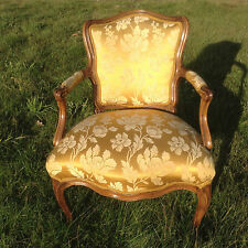 Chair armchair Louis XV Art Furniture Baroque Furniture Rococo Vintage Armchair