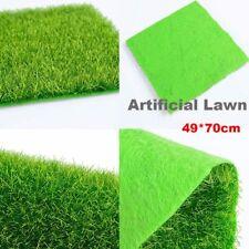 Künstliche Gras Gefälschte Rasen Gras Simulation Miniatur Garten Ornament DIY cv
