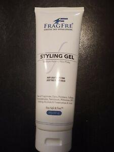 FRAGFRE Light Hold Hair Gel Fragrance Free 8 oz - Lightweight Styling Gel