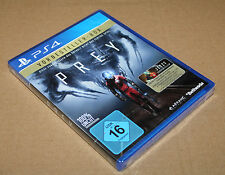 "Prey Video Game Preorder Box Collectible PlayStation 4 ""NO GAME INCLUDED"""
