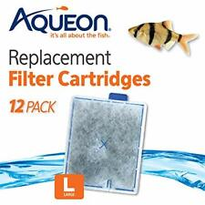 New listing Aqueon 06419 Filter Cartridge, Large, 12-Pack