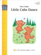 Little Cubs Dance Late Intermediate Piano Solo Sheet Music By Mary Dolen