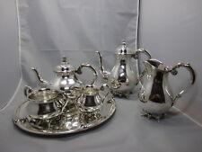 Dänemark Grann & Laglye 6 tlg. Kaffee / Tee Service Sterling Silber 925 & 826