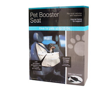 PET BOOSTER SEAT  Ideal for Pets Up to 15 lbs.