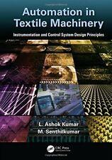 Automation in Textile Machinery: Instrumentatio, Kumar, kumar**