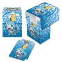 Sobble Water 2020 ULTRA PRO deck box CARD BOX FOR POKEMON CARDS