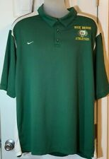 Nike  Team Fit Dry Mens Size 3X Green And White