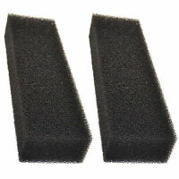 2x Square Foam Aquarium Filters for Coralife Biocube 29 / 14 Sump Modification