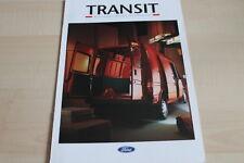 115439) Ford Transit - Kasten Pritsche Fahrgestell - Prospekt 02/1993