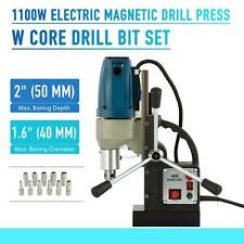 Electric Magnetic Drill Press 1550with1200with1100w Force Tap Mining Stable Welding