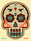 "Ernesto Yerena ""Yaqui Dia De Los Muertos"" Signed and Numbered Screen Print 2012"