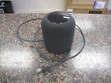 Apple A1639 Dark Gray HomePod Voice Enabled Smart Speaker - MQHV2LL/A -