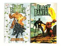 Black Panther TPB Bundle Marvel Comics, Little Green Men + Four the Hard Way