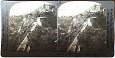 Keystone Stereoview QUEBEC, Canada from the Citadel from 1930's T400 Set Type B