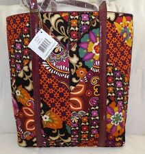 VERA BRADLEY BAG - TALL TOTE SUZANI & SAFARI SUNSET - BRAND NEW WITH TAG