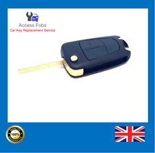Opel Vauxhall Vectra C Signum 2 button Flip remote key fob (Aftermarket) NEW