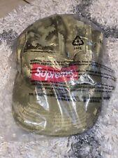 Brand New Supreme Digi Camo Olive Camp Cap Adjustable Hat S/S20 DS