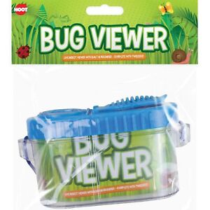 Childrens Bug Insect Keeper & Viewer Magnifier & Tweezers Educational Outdoors
