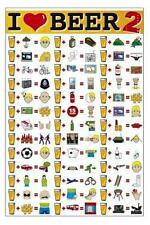 I Love Beer 2 - Maxi Poster 61cm x 91.5cm (new & sealed)
