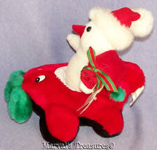 """Kellytoys Snowman Airplane Santa Clause 8.5"""" Plush Toy Animal Kuddle Me Toys w/T"""