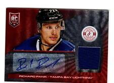 NHL Trading Cards--Auto-Jersey Card---Richard Panik--Tampa Bay---39/50