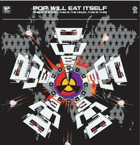 Pop Will Eat Itself - This Is The Day Hour (silver red splatter RSD LP Vinyl)