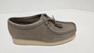 Clarks Wallabee Moc Toe Boots, Beige, Women's 8 M