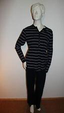 "Triumph Pyjama Schlafanzug ""Winter Beauty PK 30"" Gr.38 blau gestreift Loungewear"