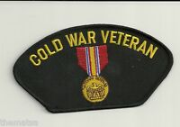 COLD WAR VETERAN MEDAL RIBBON EMBROIDERED PATCH