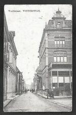 Winterswijk Wooldstraat Hotel de Klok People Gelderland Netherlands ca 1910