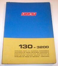 Catalogo Ricambi FIAT 130 - 3200 -  ed. 1971