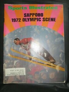 1971 SPORTS ILLUSTRATED MAGAZINE OLYMPIC GAMES - SAPPORO