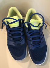 New listing Nike Mens Vapor Court Tennis Shoes Size 13 Blue And bright green