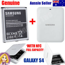 GENUINE Samsung Galaxy S4 Battery 2600mAh i9500 i9505 Cradle Charger WHITE