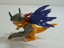 "1999 Digimon Digital Monsters 2.5"" MetalGreymon Mini Figure Bandai"