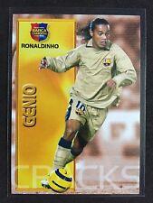 2004-05 Panini Megacracks Barca #91 Ronaldinho Barcelona card