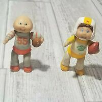 Vintage 1984 Cabbage Patch Kids PVC Toy Figure O.A.A. Football #55 Yellow QB