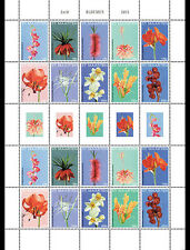 Sint Maarten - Postfris / MNH - Sheet Flowers 2015