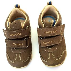 Geox baby boy Balu USA 4.5 all leather breathable
