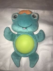 Baby Einstein Neptune Turtle Night Light Plush Musical Baby Crib Stroller Toy