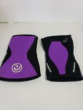 REHBAND 7751 5MM WOMEN'S KNEE SUPPORT - sz XS PURPLE