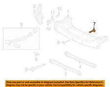 GM OEM Rear Suspension-Mount Bolt 22601647