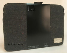 "HEX Monarch Sleeve Slip Pouch Case for MacBook Pro 13"" Air 13"" Charcoal Tweed"